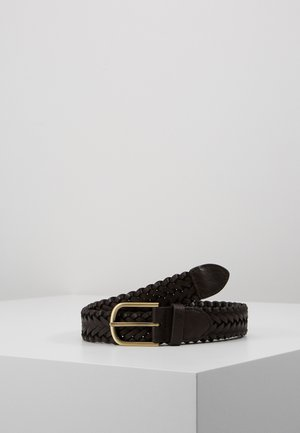 WEAVE BELT - Pásek - brown
