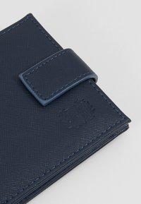 Burton Menswear London - CORE SAFFIANO  - Peněženka - navy - 2