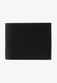 Burton Menswear London - DIAMOND EMBOSS WALLET - Monedero - black - 1