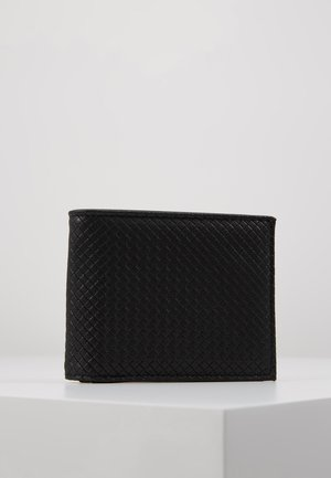 DIAMOND EMBOSS WALLET - Peněženka - black