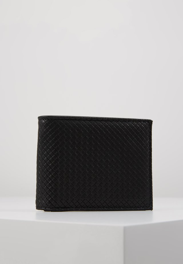 DIAMOND EMBOSS WALLET - Geldbörse - black