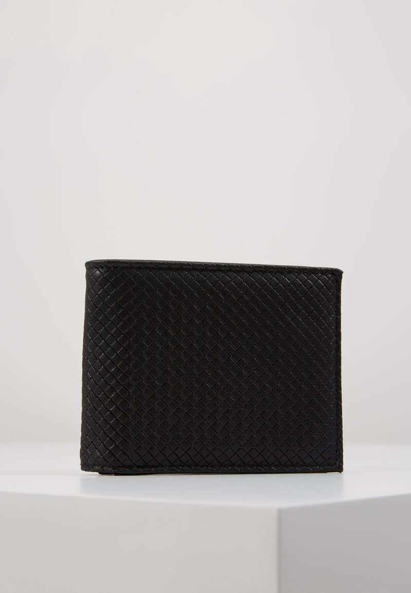 Burton Menswear London - DIAMOND EMBOSS WALLET - Monedero - black
