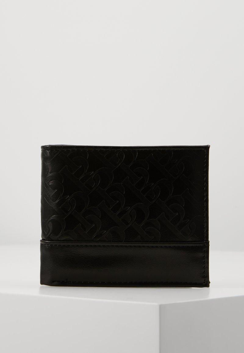 Burton Menswear London - MONOGRAM WALLE - Wallet - black