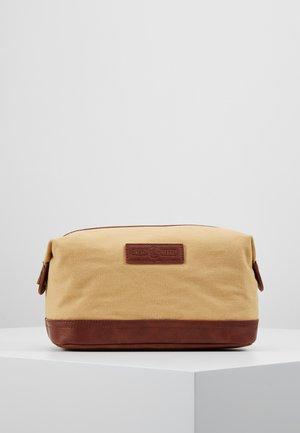 WASH BAG - Wash bag - brown
