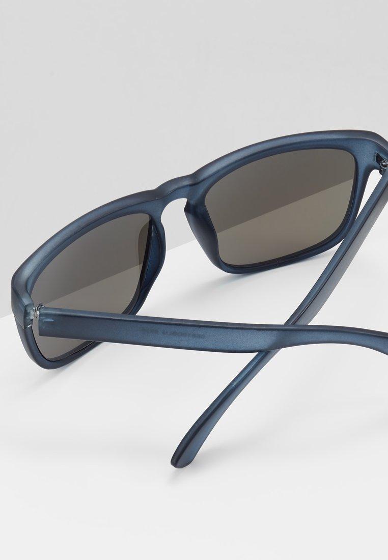 Burton Menswear London SQUARE MOLLY BLUR MIRROR - Okulary przeciwsłoneczne - blue