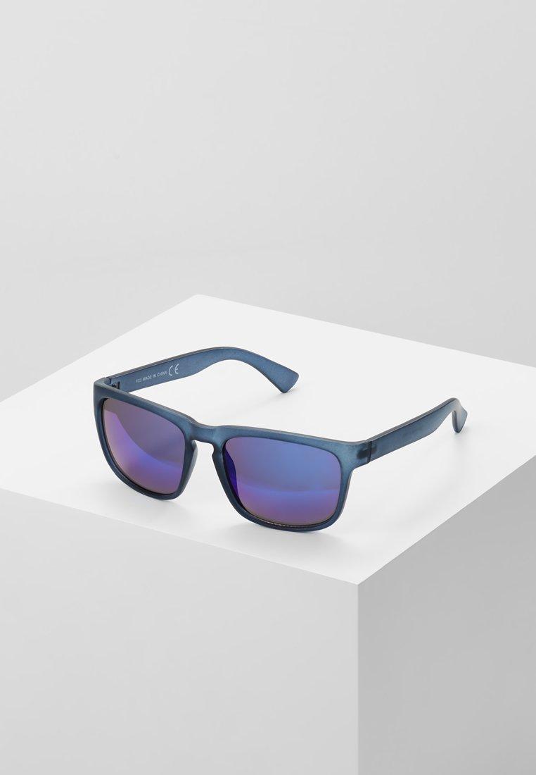 Burton Menswear London - SQUARE MOLLY BLUR MIRROR - Gafas de sol - blue