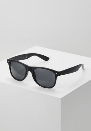 FREDRICK MATTE WAYFARER - Sunglasses - black