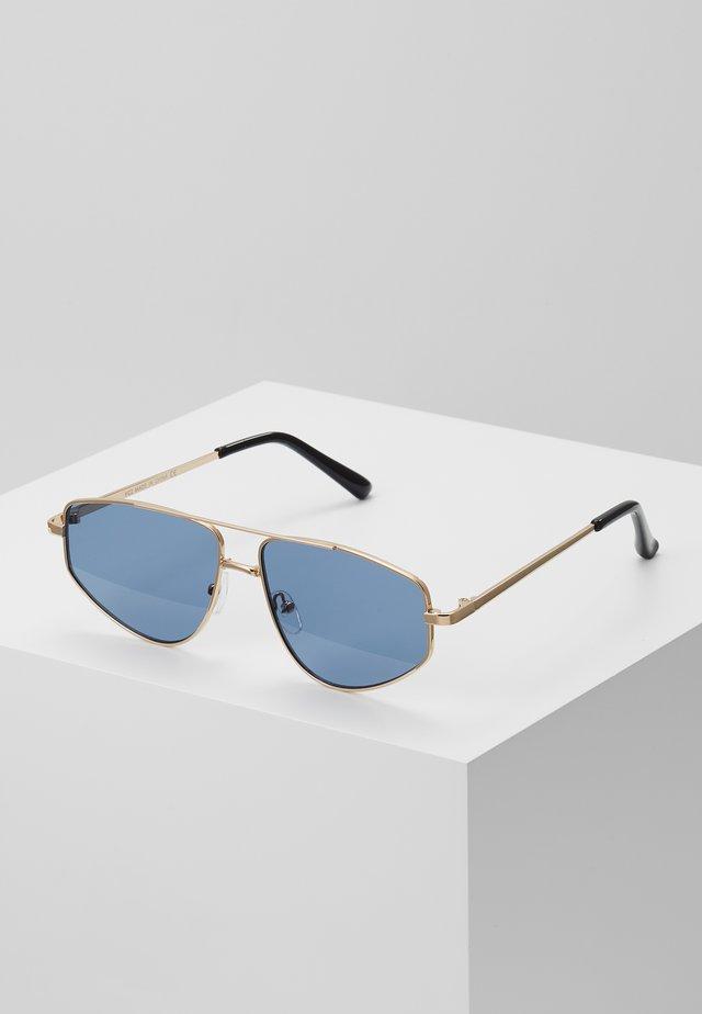 TRIANGLE AVIATOR  - Sunglasses - blue