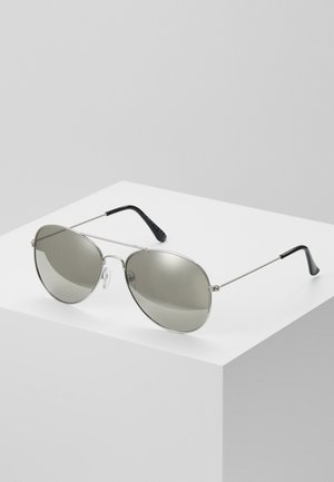 JAMES MIRROR LENS AVIATOR - Zonnebril - grey