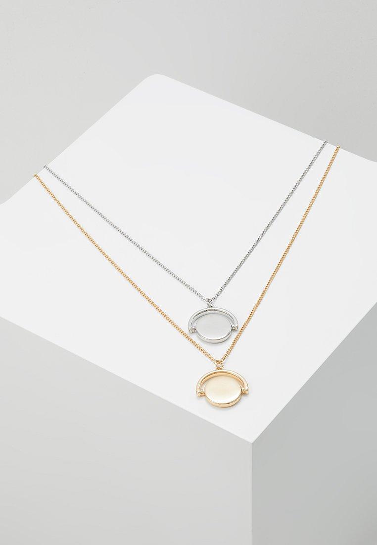 Burton Menswear London - SPINNER 2 PACK - Collar - mixed metal