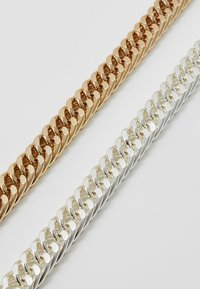 Burton Menswear London - COIN BRACELET 2 PACK - Bracelet - silver-coloured/gold-coloured - 4
