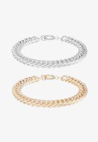 Burton Menswear London - COIN BRACELET 2 PACK - Armbånd - silver-coloured/gold-coloured - 3