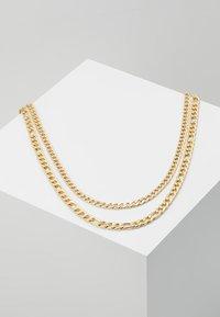 Burton Menswear London - FIGARO 2 ROW - Collana - gold-coloured - 0