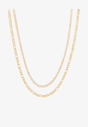 FIGARO 2 ROW - Ketting - gold-coloured