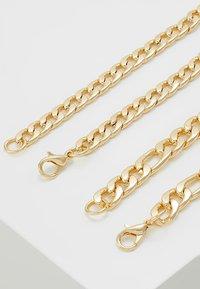 Burton Menswear London - FIGARO 2 ROW - Collana - gold-coloured - 2