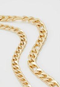 Burton Menswear London - FIGARO 2 ROW - Collana - gold-coloured - 4