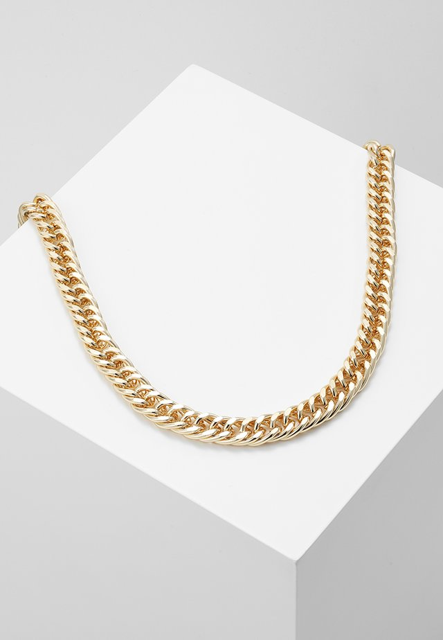 THICK CHAIN - Halsband - gold-coloured