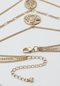 Burton Menswear London - CHERUB LAYERED NECKLACE - Náhrdelník - gold-coloured - 2