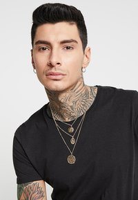 Burton Menswear London - CHERUB LAYERED NECKLACE - Náhrdelník - gold-coloured - 1