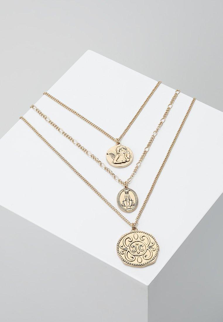 Burton Menswear London - CHERUB LAYERED NECKLACE - Necklace - gold-coloured
