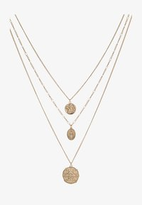 Burton Menswear London - CHERUB LAYERED NECKLACE - Náhrdelník - gold-coloured - 3