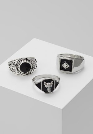 ANIMAL MEGA SET - Anello - silver-coloured