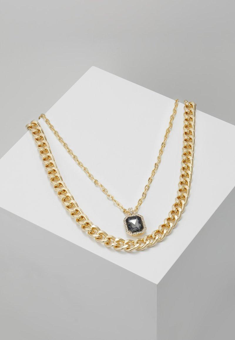 Burton Menswear London - MULTIROW - Necklace - black