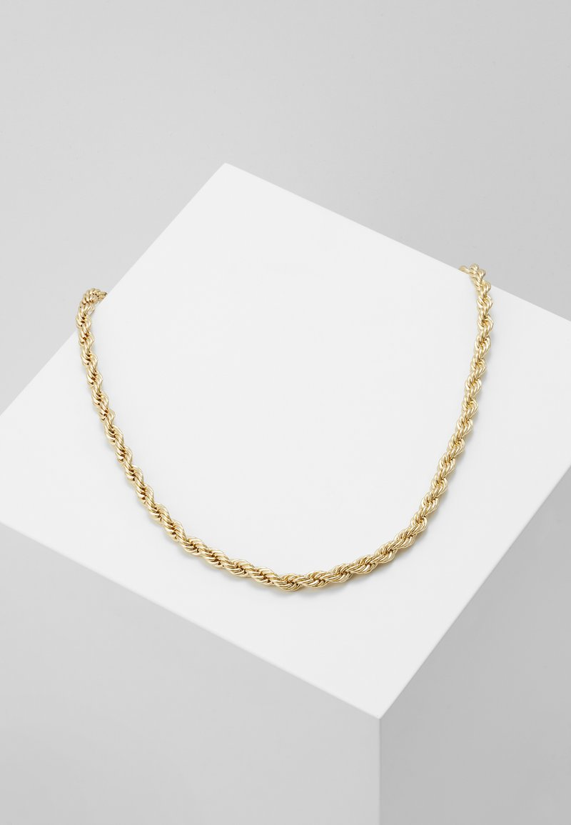 Burton Menswear London - BURTON TWIST TBAR - Collar - gold-coloured
