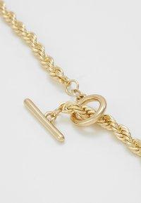 Burton Menswear London - BURTON TWIST TBAR - Collar - gold-coloured - 2