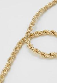 Burton Menswear London - BURTON TWIST TBAR - Collar - gold-coloured - 4