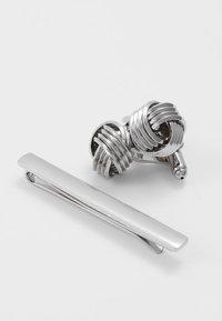 Burton Menswear London - KNOT SET - Jiné - silver-coloured - 3