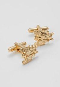 Burton Menswear London - FLY SET - Cufflinks - gold-coloured - 2