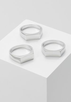 BAR 3 PACK - Ring - silver-coloured