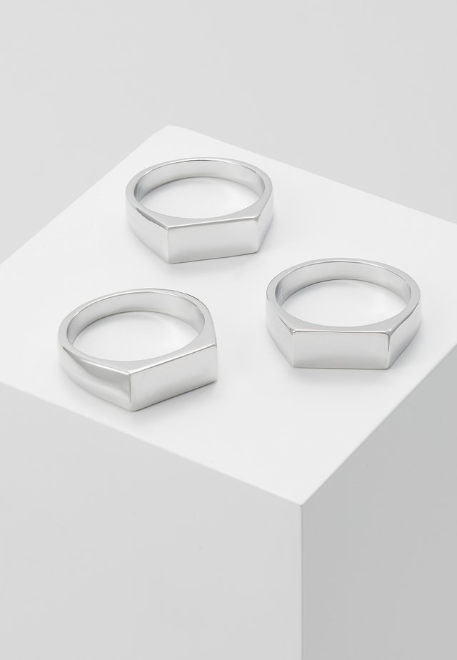 BAR 3 PACK - Anello - silver-coloured