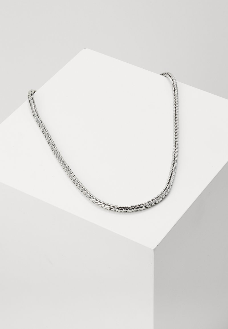 Burton Menswear London - FOXTAIL  - Necklace - silver-coloured