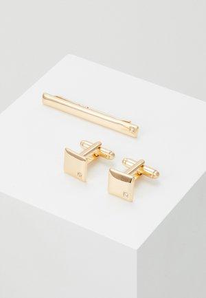 SQUARE SET - Cufflinks - gold-coloured