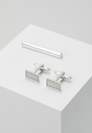 CUFF SET - Manžetové knoflíčky - silver-coloured