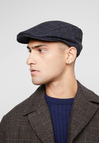 Burton Menswear London - GRID - Mössa - navy - 1