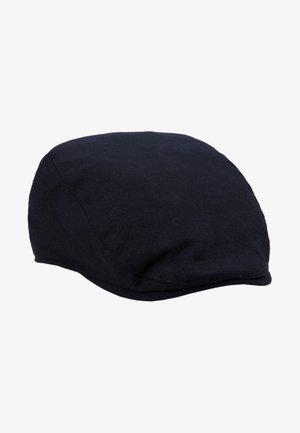 FLAT CAP TEXTURE SMART - Čepice - navy