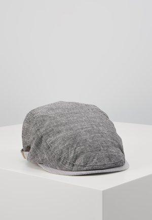 FLAT CAP TEXTURE CASUAL - Gorra - navy