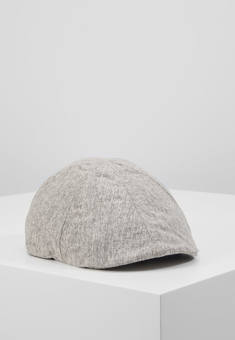 Burton Menswear London - FLAT TEXTURE SMART - Hat - grey