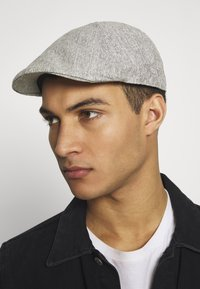 Burton Menswear London - FLAT TEXTURE SMART - Hat - grey - 1