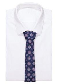 Burton Menswear London - GEO - Kravata - navy - 1