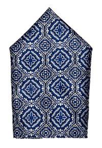 Burton Menswear London - TILE GEO SET - Taskuliina - blue - 1