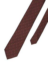 Burton Menswear London - BURG BRAND TIE - Kravata - burgundy - 2