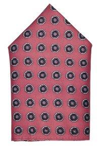 Burton Menswear London - GEO MATCHING SET - Kapesník do obleku - pink - 2