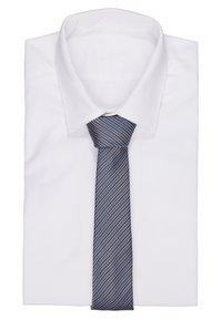 Burton Menswear London - GEO TIE - Slips - silver-coloured - 1