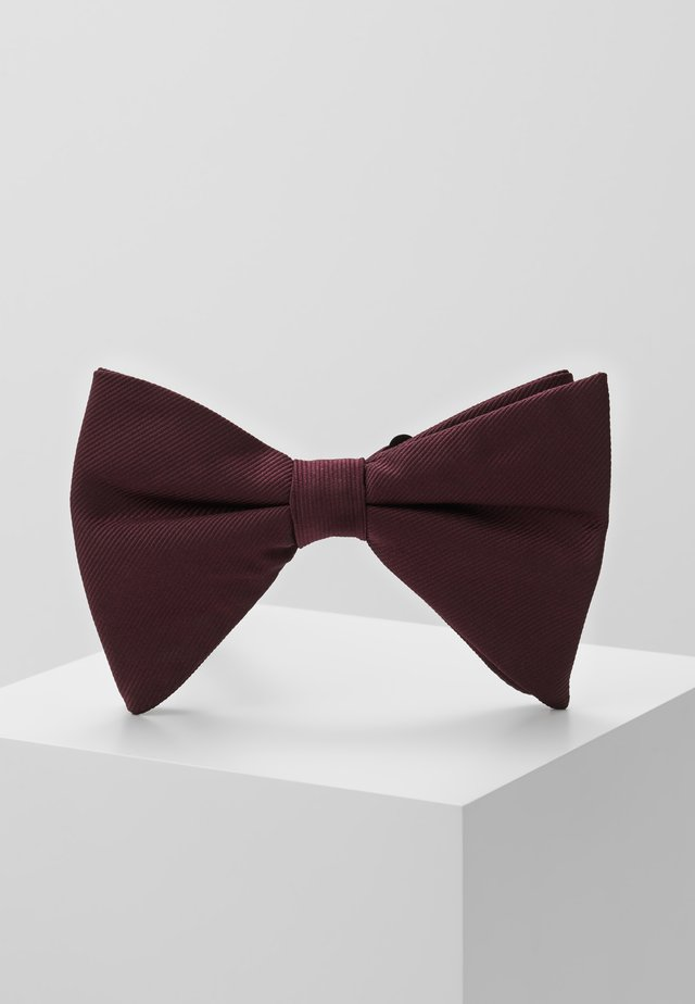 DROOPY BOW - Rusetti - burgundy