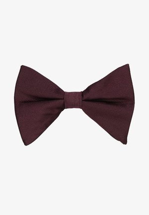 DROOPY BOW - Bow tie - burgundy