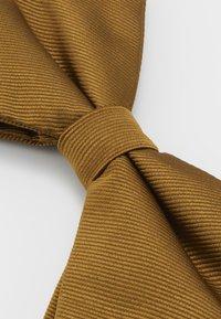 Burton Menswear London - DROOPY BOW - Bow tie - brown - 3